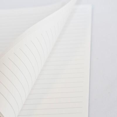 「めくられるノート」の写真素材