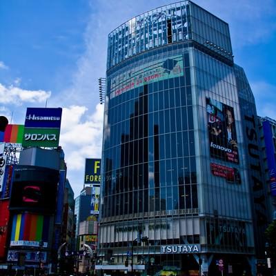 「渋谷TSUTAYA前」の写真素材