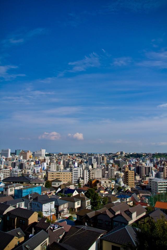 横浜の街並の写真