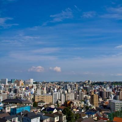 「横浜の街並」の写真素材