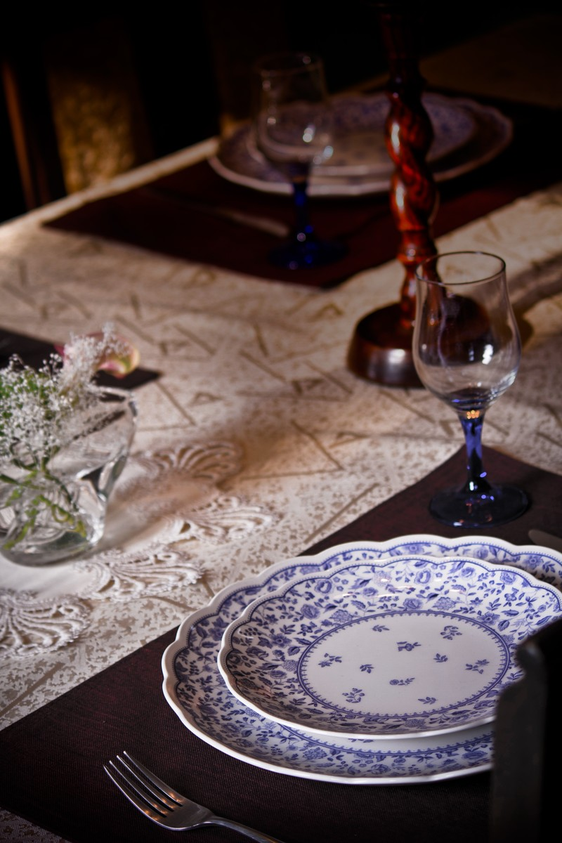 「テーブルセッティングテーブルセッティング」のフリー写真素材を拡大