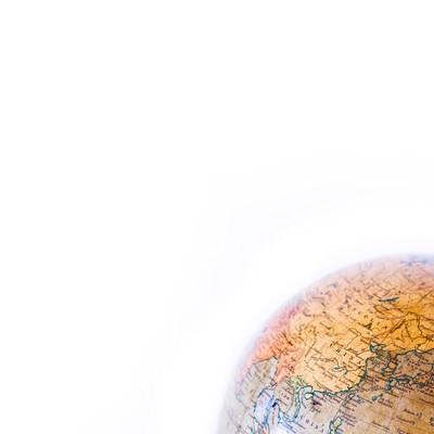 「古い地球儀」の写真素材
