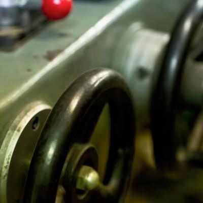 「汎用機のハンドル」の写真素材