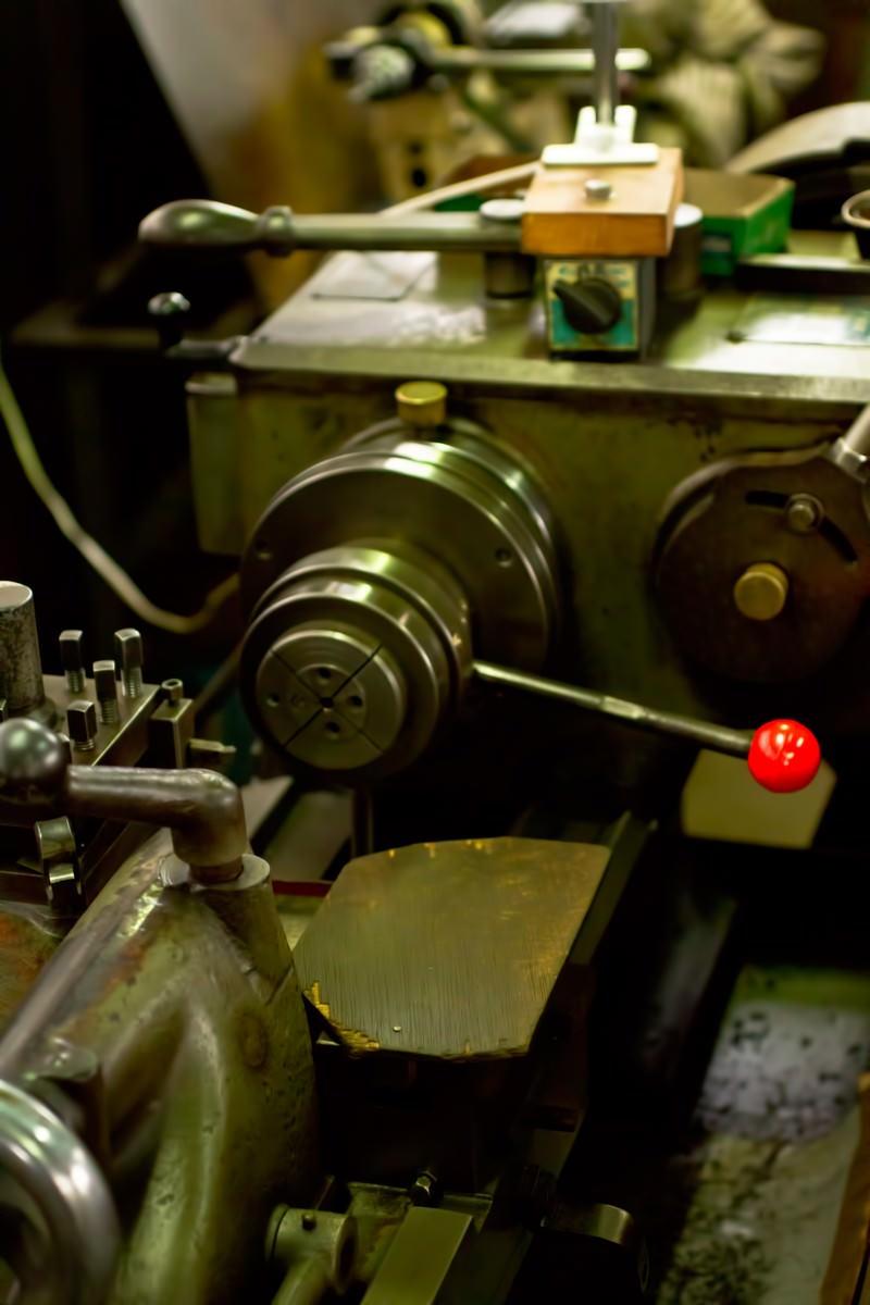 「小型旋盤」の写真