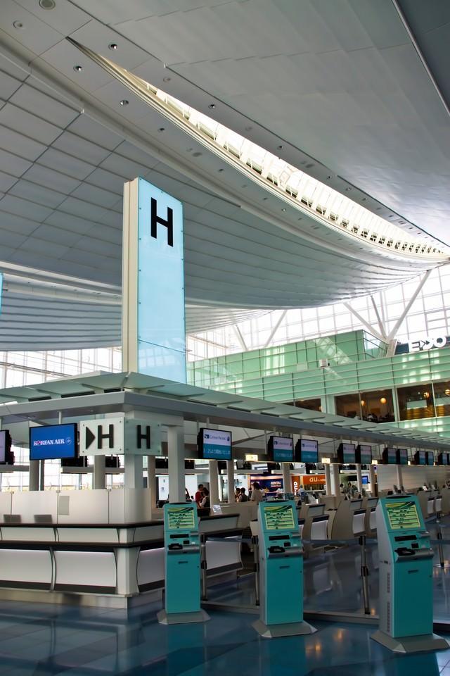 羽田国際線ターミナルの写真