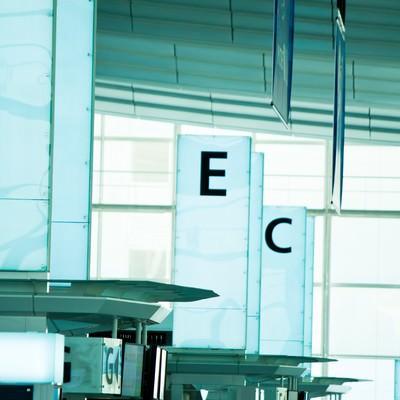 「羽田空港のターミナル」の写真素材