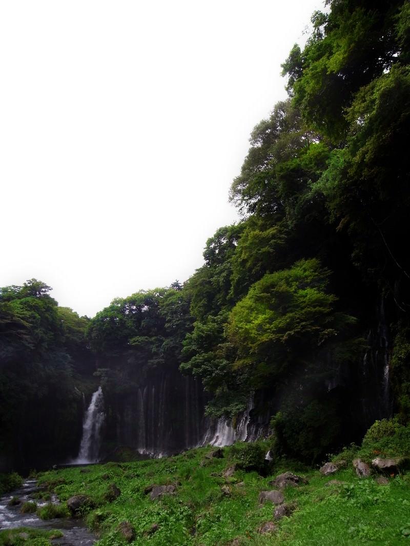 「白糸の滝」の写真