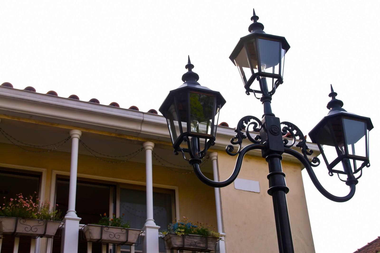 「洋風な街灯」の写真