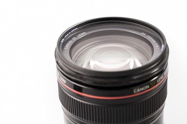 24-105mmのLレンズの写真