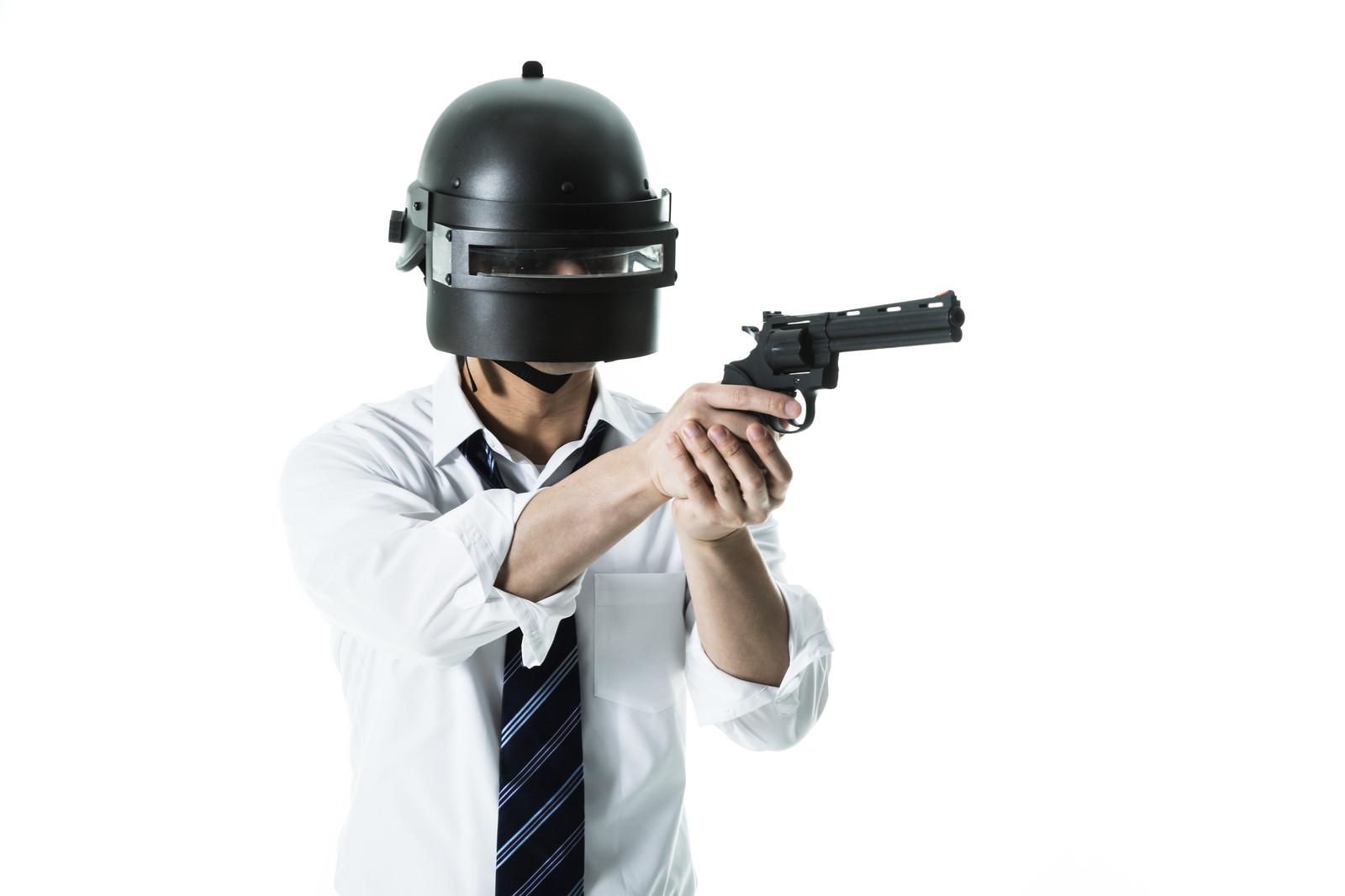「拳銃を現地調達した素人プレイヤー」の写真