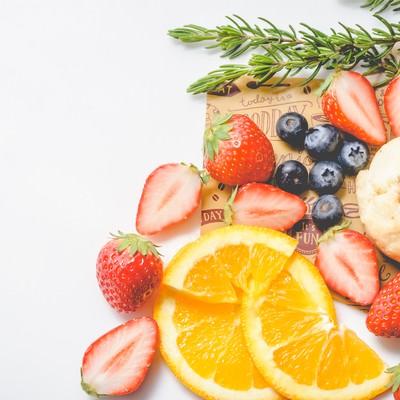 「果物・フルーツぎっしり」の写真素材