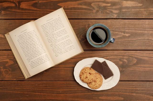読書の時間の写真