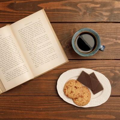 「読書の時間」の写真素材