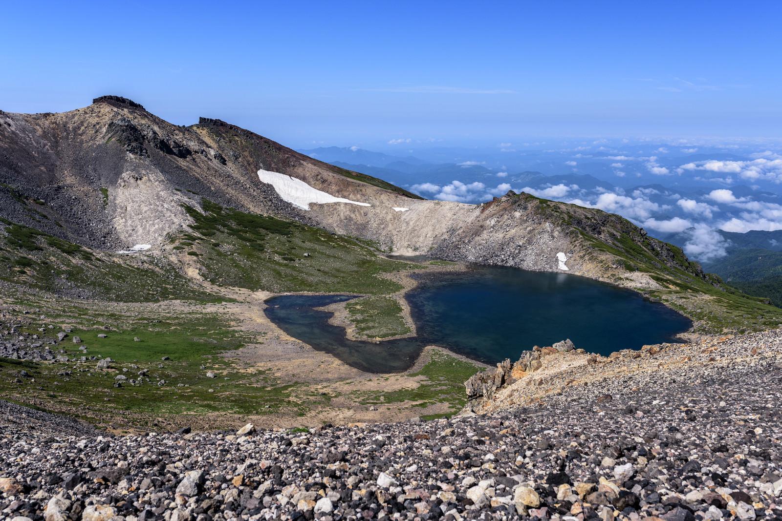 「乗鞍岳権現池(ごんげんいけ)の景色」の写真