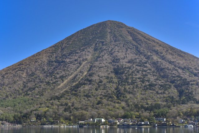 日本百名山の男体山(栃木県日光市)の写真