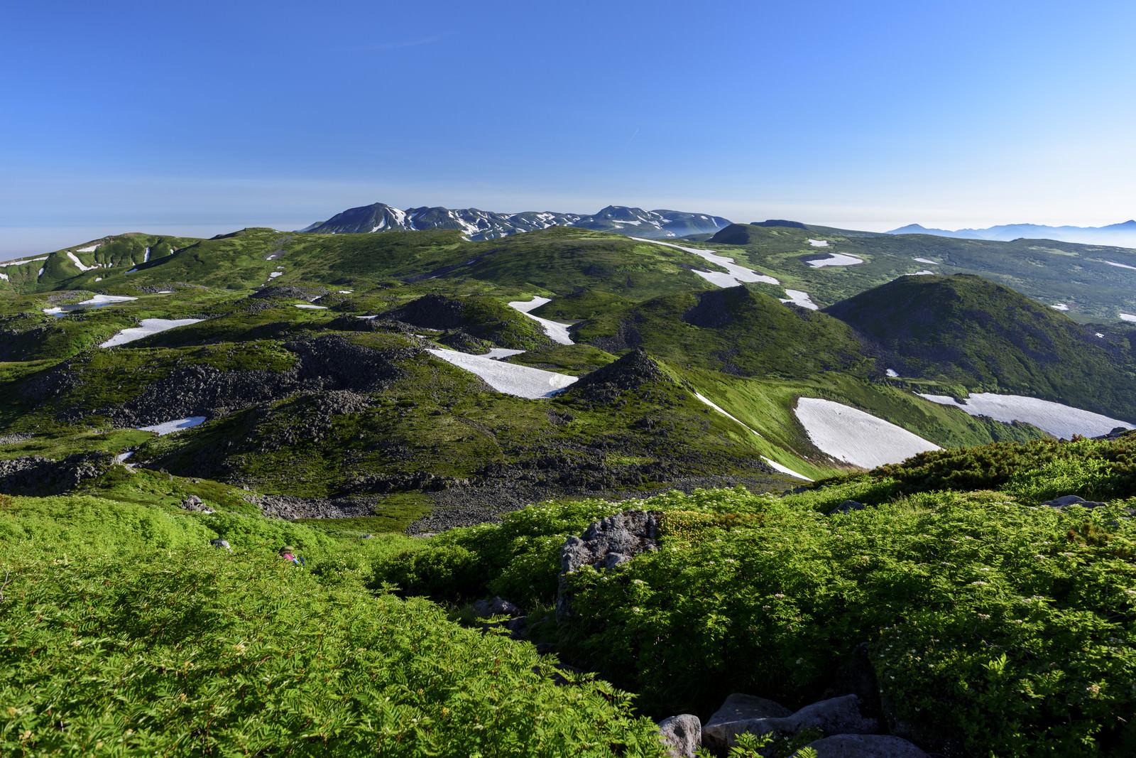 「雄大な自然広がる大雪山」の写真