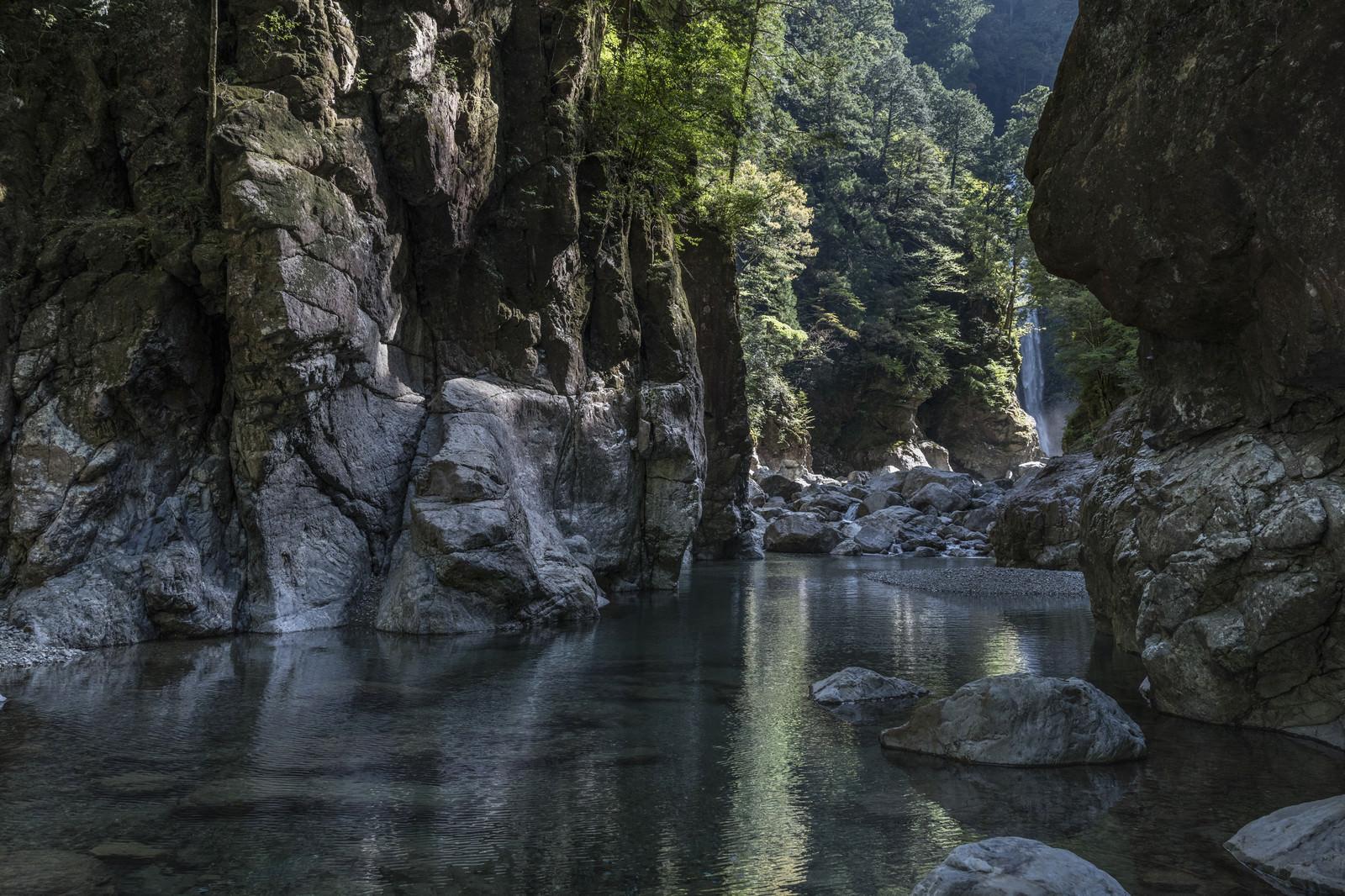 「大杉渓谷(シシ淵)」の写真