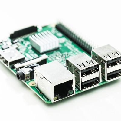 自作IoT用小型PCの写真