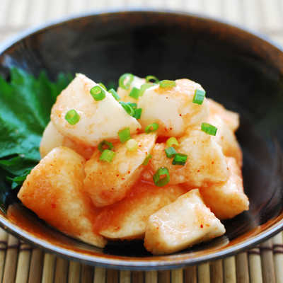 「明太山芋」の写真素材