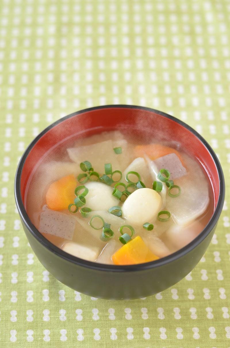 「里芋の豚汁」の写真