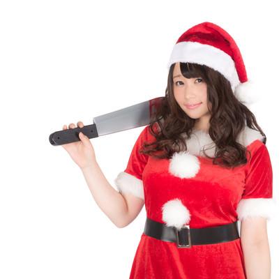 「ようこそ血のクリスマスへ(ハニートラップ)」の写真素材