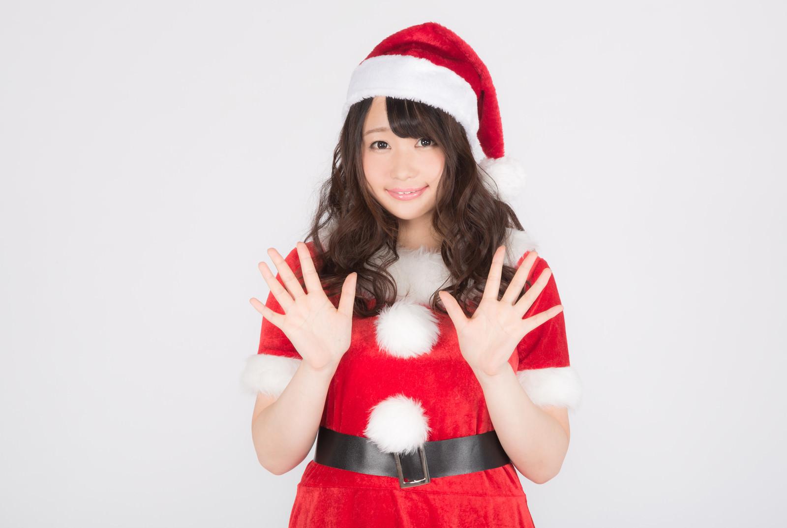「クリスマスまであと10日!」の写真[モデル:茜さや]