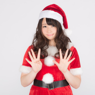 「クリスマスまで9日!予定は決まった?」の写真素材