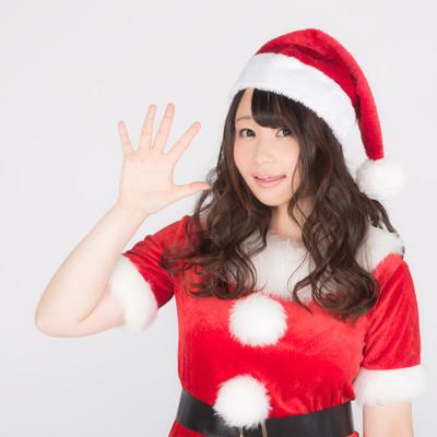 「社畜のみなさーん!あと5日でクリスマスですよ!」の写真素材