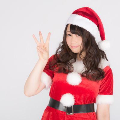 「クリスマスまであと3日!カウントダウンスタート!」の写真素材