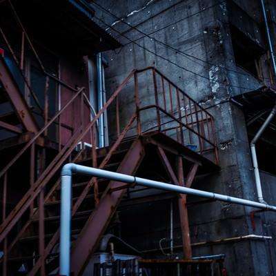 「年期の入った工場」の写真素材