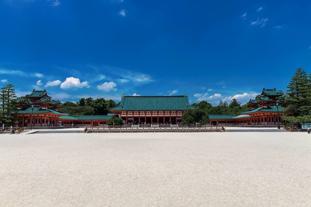 平安神宮正面の写真