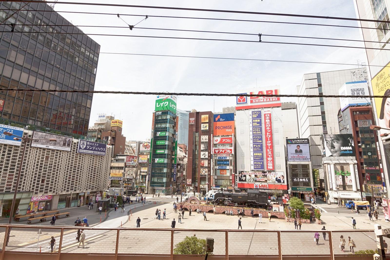 「新橋駅前SL広場」の写真