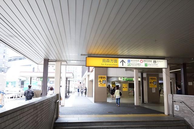 新橋駅汐留方面出口の写真
