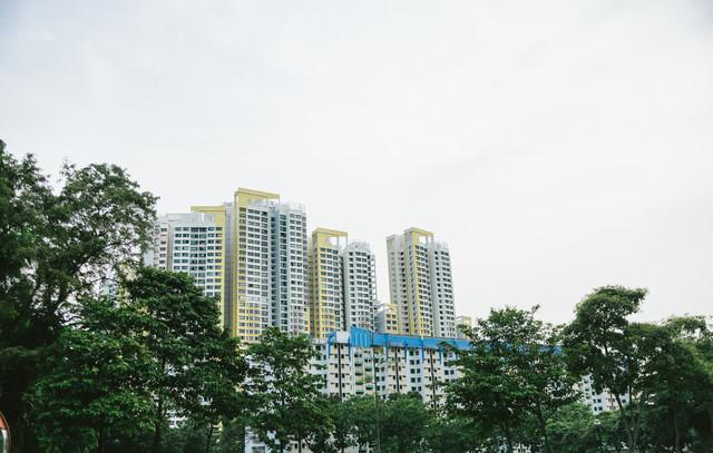 シンガポールの建物の写真
