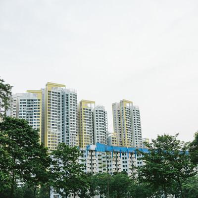 「シンガポールの建物」の写真素材