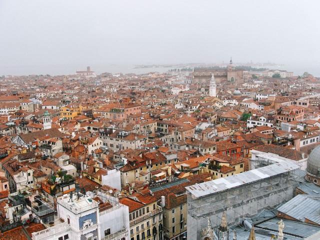 ベネチアの建物と街並み(イタリア)の写真