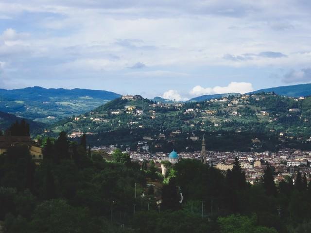 フィレンツェの街並み(イタリア)の写真