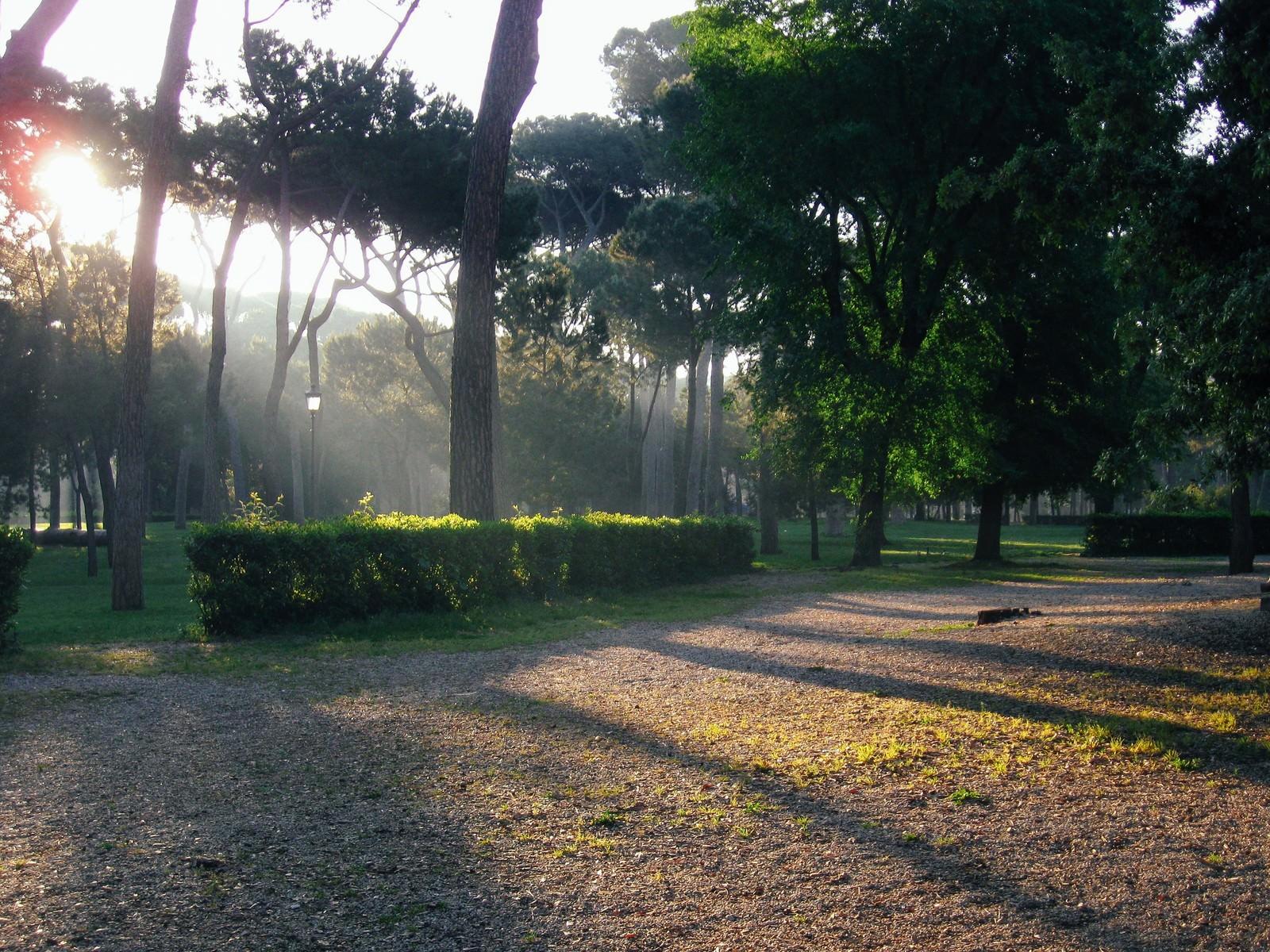 「ローマのボルゲーゼ公園(イタリア)」の写真