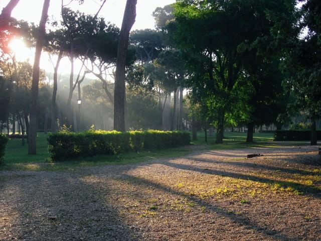ローマのボルゲーゼ公園(イタリア)の写真