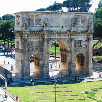 凱旋門(イタリア)の写真