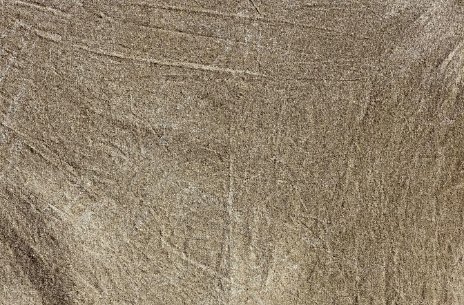 「茶色いボロボロの布(テクスチャー)」の写真