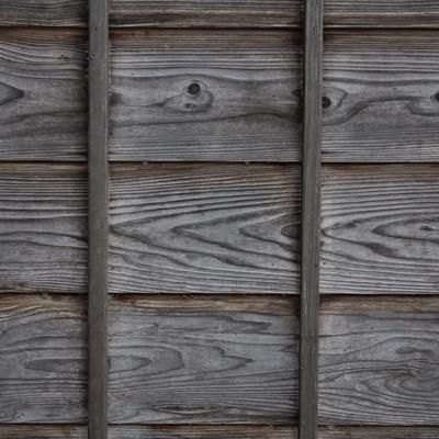 「古民家の外壁の壁(木造)」の写真素材
