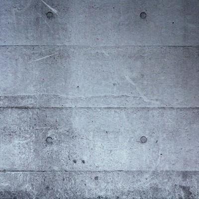「冷たいコンクリートの壁(テクスチャー)」の写真素材