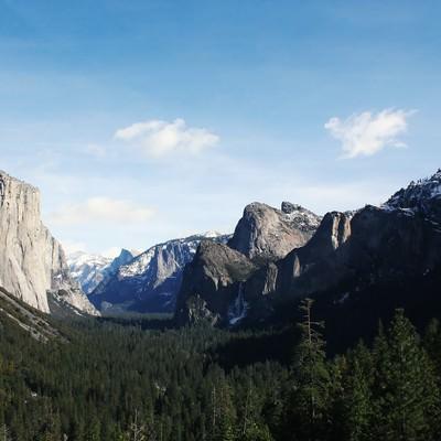 「ヨセミテ国立公園」の写真素材