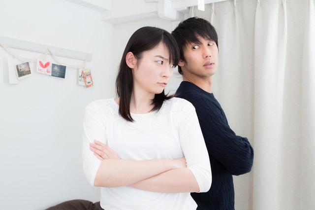 意見の不一致(夫婦喧嘩)の写真