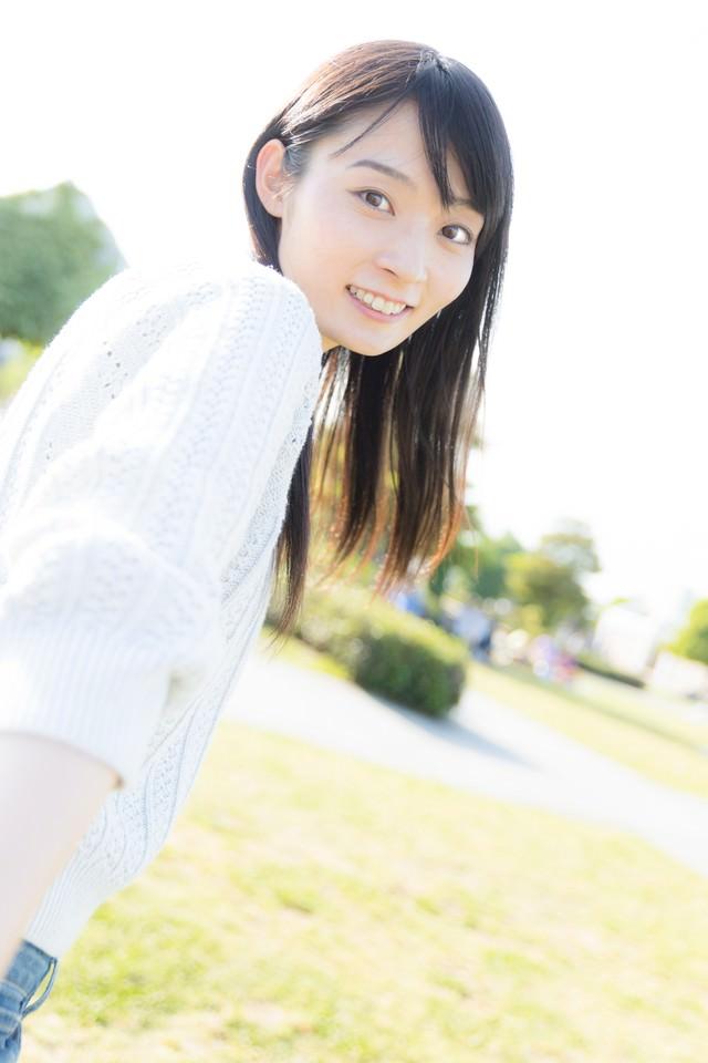 彼女と公園デートなうの写真