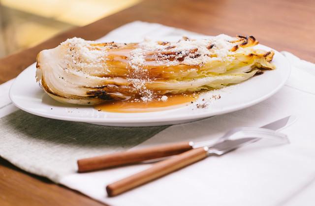 白菜を丸ごと使ったレシピの写真