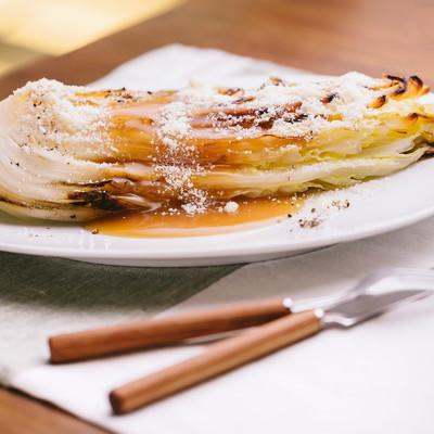 「白菜を丸ごと使ったレシピ」の写真素材
