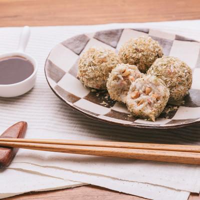 「里芋のコロッケ(ノンフライ)」の写真素材