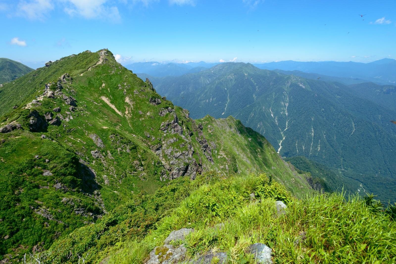「谷川岳のオキの耳 | 写真の無料素材・フリー素材 - ぱくたそ」の写真